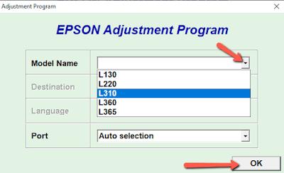 Cara Mengatasi Error Printer Epson L130, L220, L310, 360, L365