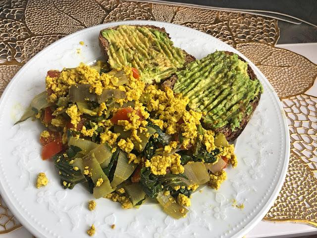 Tofu Revuelto | Desayuno Proteico estilo Huevos Veganos