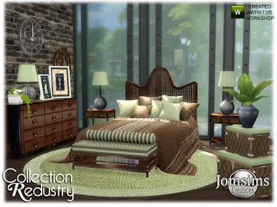 Рустикальный стиль — наборы мебели и декора для Sims 4 со ссылкой для скачивания