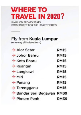 AirAsia BIG SALE of 2019 ( 4 Nov - 10 Nov 2019)