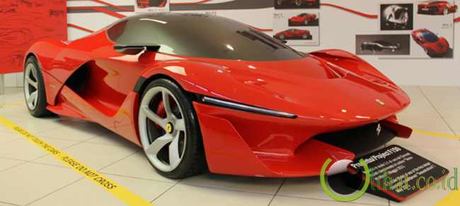 La Ferrari aka F70