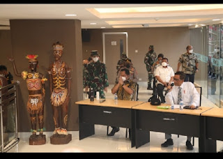 Menko Polhukam Bersama Mendagri Pastikan PON XX Papua 2021 dan Peparnas Siap Dilaksanakan