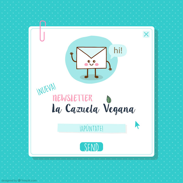Newsletter La Cazuela Vegana