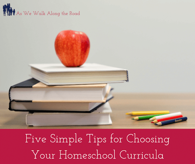Tips for Choosing Homeschool Curricula