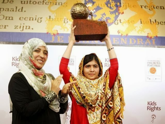 MALALA YOUSAF ZAI : Malala Yousafzai will get Nobel Peace