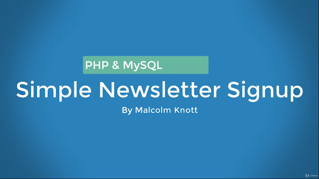 Creating a Simple Newsletter Signup Using PHP and MySQL