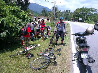 Kemalangan Basikal di Negeri Sembilan