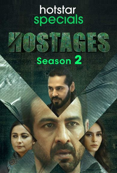 HOSTAGES (2020) S02 EP (01-12) WEB-DL HINDI