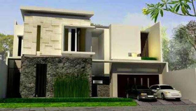 Konsep arsitektur rumah minimalis 2 kantai