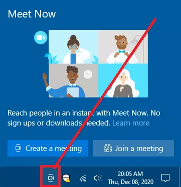 Cara Menghilangkan Icon Meet Now Windows 10-1