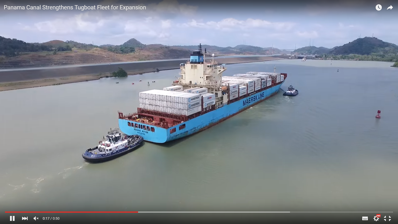 VIDEO: Panama Canal Strengthens Tugboat Fleet for Expansion