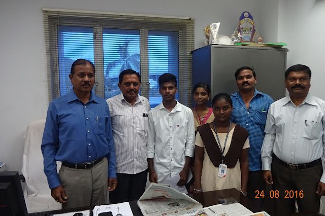 Gangavaram Port  awards scholarships to students