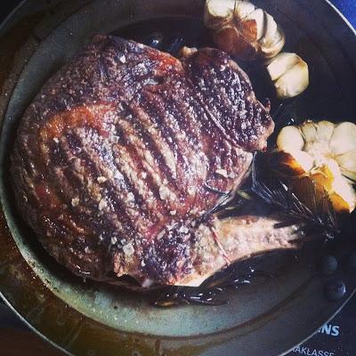 Ochsenkotelett vom Irish Beef in der Pfanne gebraten | Arthurs Tochter kocht. Der Blog für Food, Wine, Travel & Love