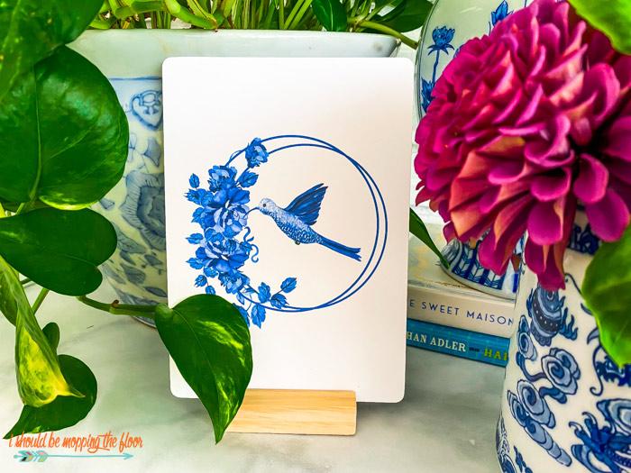 Free Hummingbird Printable