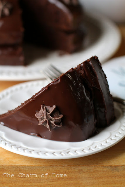 Easy Chocolate Ganache: The Charm of Home
