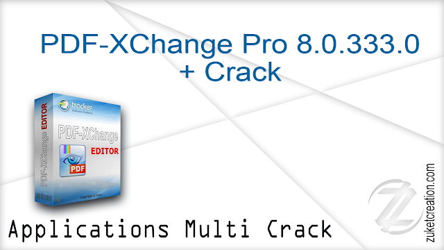 PDF-XChange Pro 8.0.333.0 + Crack