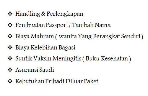 Paket Umroh Ramadhan 2020 tidak