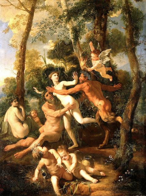 Nicolas Poussin - Pan e Siringa - abusi sessuali