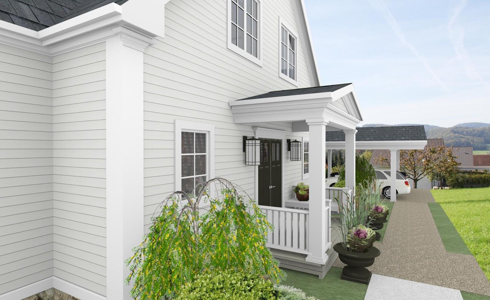 3D Visualisierung - Beachhouse Living