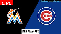 Miami-Marlins-vs-Chicago-Cubs-Playoffs