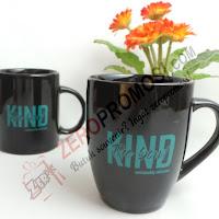 Mug keramik full hitam