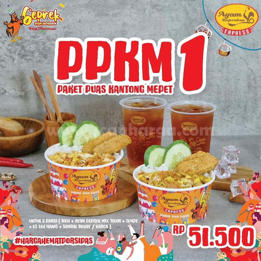 Ayam Keprabon Promo Paket PPKM harga mulai 50 Ribu-an*