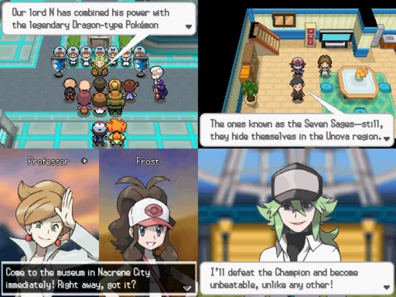 Pokémon Black White Equipe Plasma