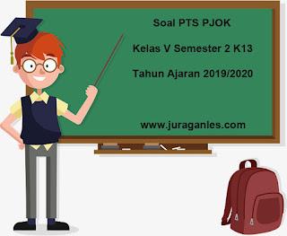 Contoh Soal PTS / UTS PJOK Kelas 5 Semester 2 Tahun Ajaran 2019/2020