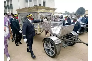 Popular Businessman, Oil Magnet Buried In Grand Style.