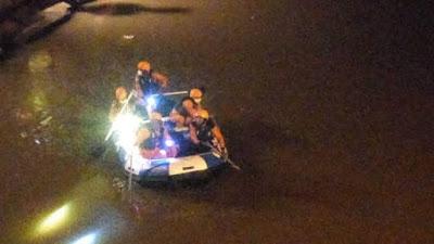 Siswa smp tenggelam di sungai deli