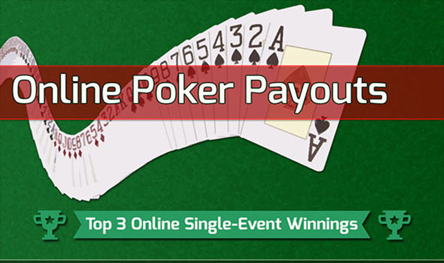 Poker Payouts: Give Online a Chance #infographic