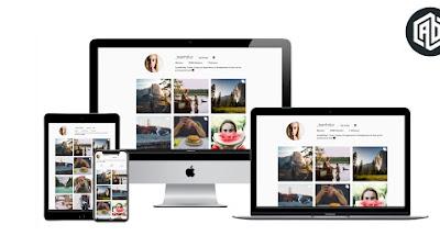 Share template instagram profile - Giới thiệu bản thân