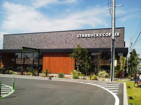 外観2 スターバックスコーヒー羽島福寿店