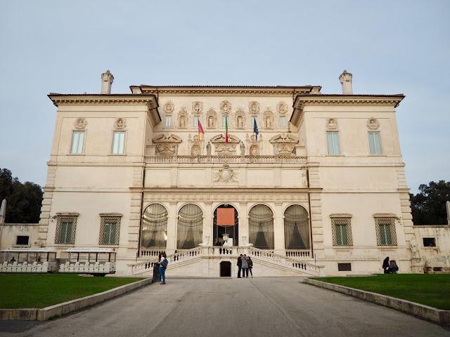 Villa Borghese Galleria, Rome, Italy