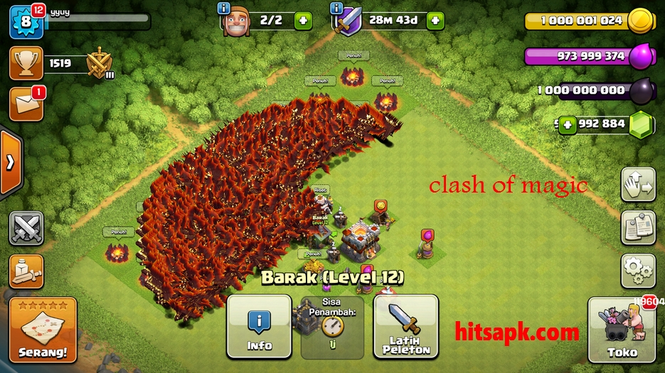 COC - Clash Of Magic S1/S2/S3/S4 APK - MOD Unlimited All