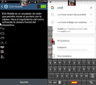 Aplikasi Android Eva Facial Mouse