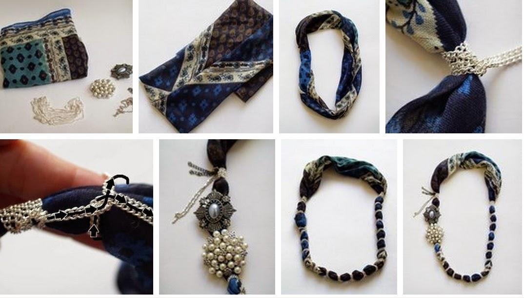 foulards, pañuelos, técnicas, métodos, tutoriales, posiciones