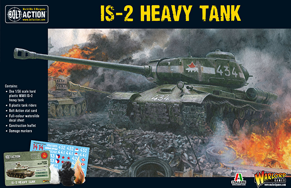 Warlord Games: Plastic Bolt Action - Soviet IS-2 Heavy Tank