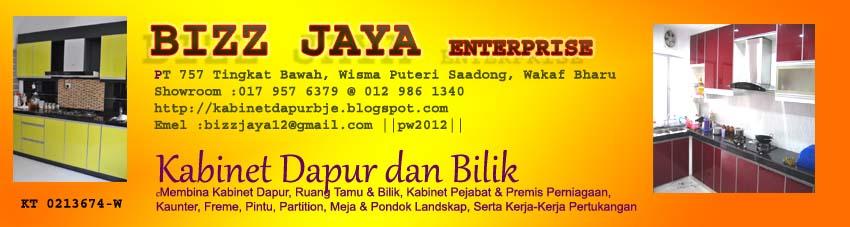 Kabinet Dapur Bizz Jaya Enterprise Wakaf Bharu Kelantan