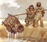 la pesca, con la caccia, ha permesso la sopravvivenza dei popoli