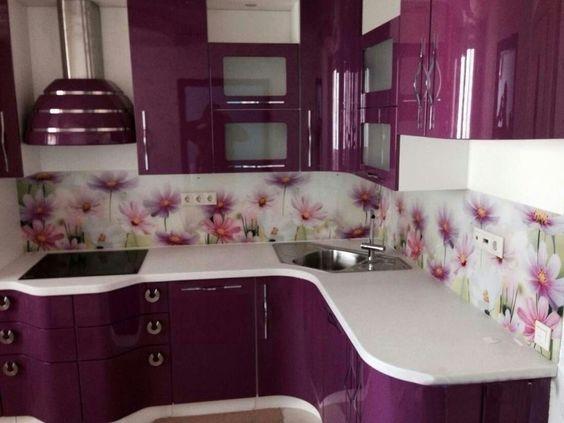 Brilliant Purple Kitchen Cabinet Designs to Transform Your Kitchen ...