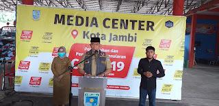 Walikota Jambi Membantah Bahwa Kota Jambi Masuk Dalam Zona Merah.