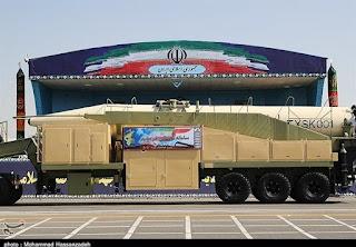 ballistic missile Khorramshahr