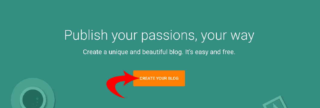 how to create blogger blog
