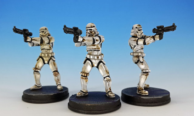 Stormtrooper Villain Pack, Imperial Assault (2016), painted miniature