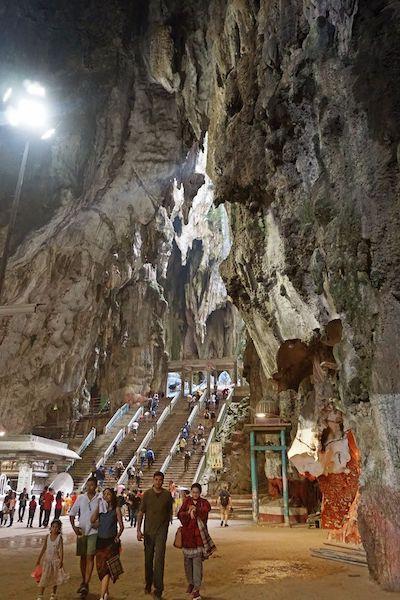 バトゥ洞窟ヒンドゥ寺院