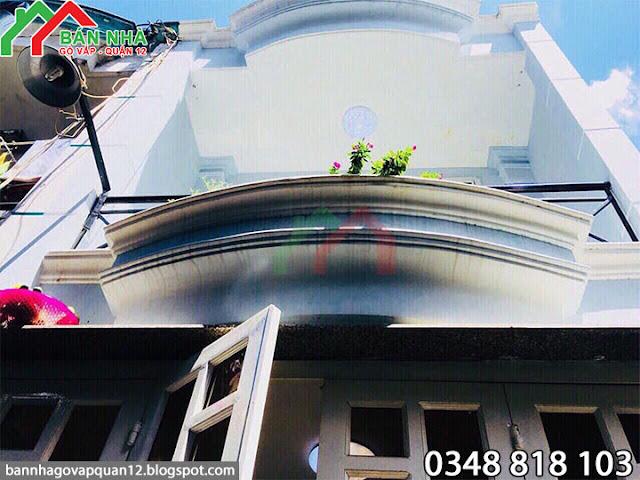 Nhà Gò Vấp hẻm 237 Phạm Văn Chiêu nở hậu 3.5m
