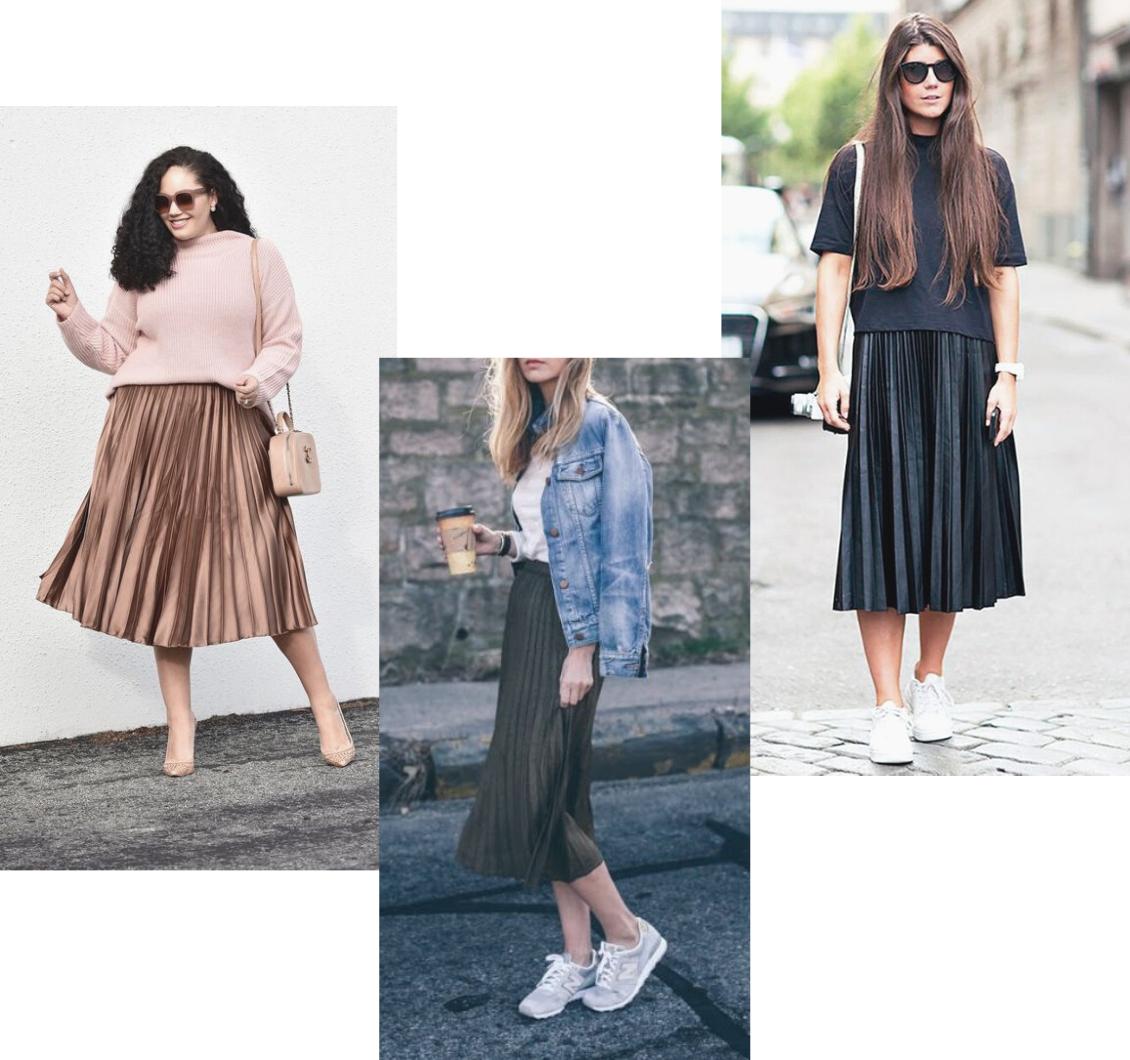 Moda evangélica: como usar saia plissada