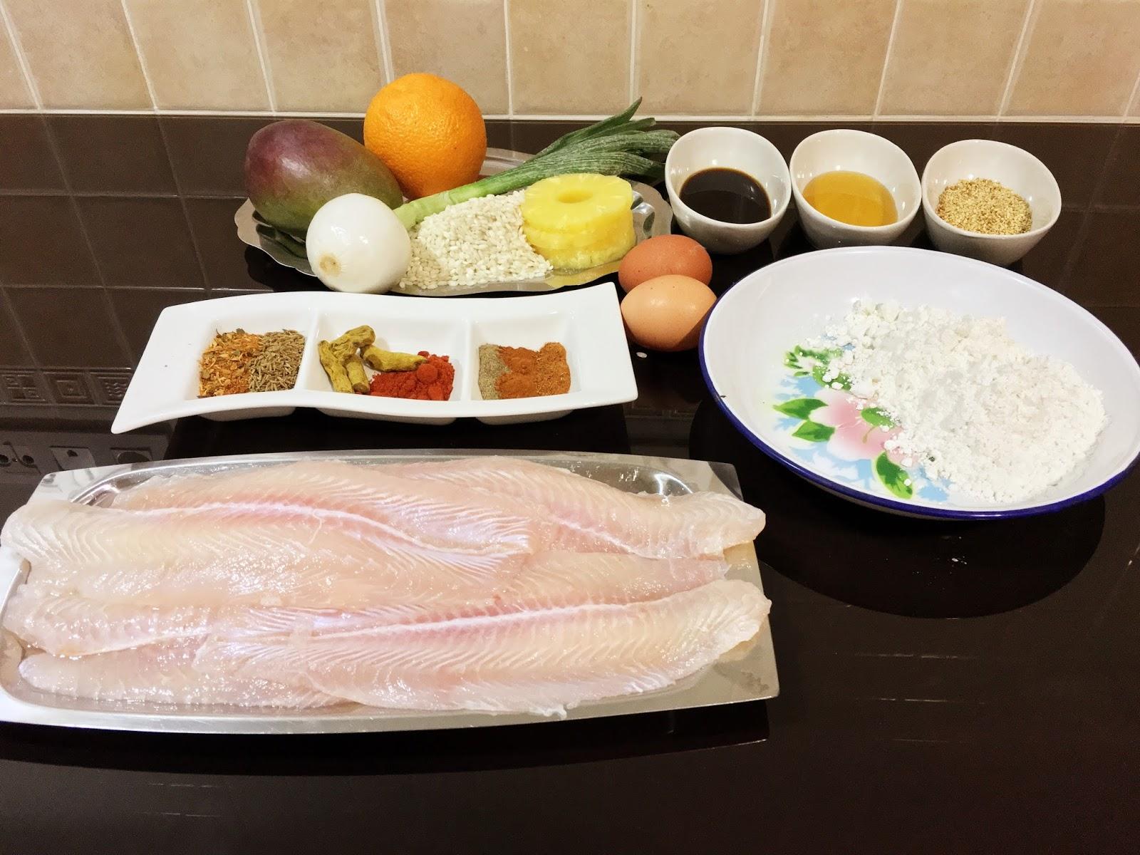 Cocina tu alegr a pakora de pescado con ensalada de for Cocina con alegria