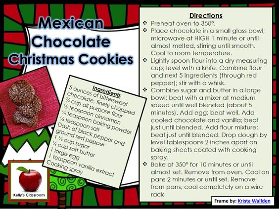 How to Make Mexican Chocolate Christmas Cookies